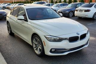 Used 2016 BMW 320 xDrive SPORTLINE RED LEATHER for sale in Dorval, QC