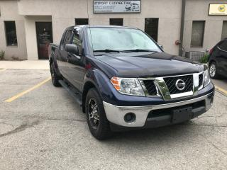 Used 2011 Nissan Frontier SV 4WD Crew Cab LWB 6 SPD. MANUAL ! for sale in Burlington, ON