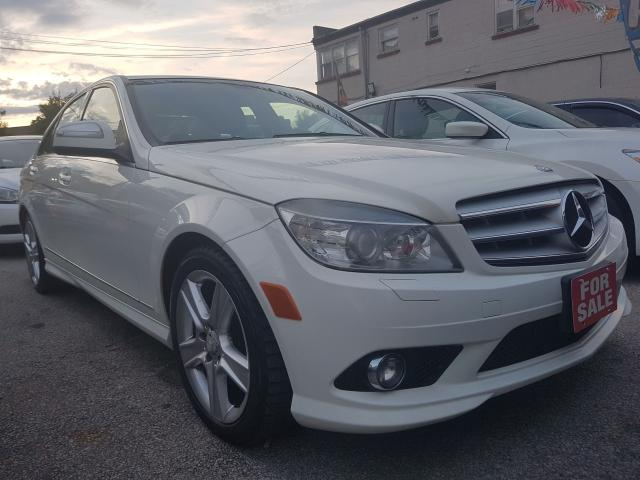 2008 Mercedes-Benz C-Class 3.0L-Clean Report-Leather-Sunroof-Bluetooth