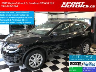 Used 2014 Nissan Rogue AWD+Heated Seats & Side Mirrors+Camera+Bluetooth for sale in London, ON
