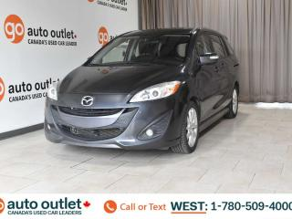Used 2014 Mazda MAZDA5 GT, FWD, Heated leather front seats, Backup camera, Sunroof for sale in Edmonton, AB