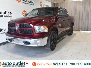 Used 2018 RAM 1500 ECODIESEL Outdoorsman, 4X4, Crew Cab, Heated front seats & steering wheel, Backup camera for sale in Edmonton, AB