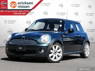 Used 2007 MINI Cooper AUTOMATIC BRITISH RACING GREEN for sale in Edmonton, AB