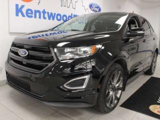 Used 2016 Ford Edge Sport AWD ecoboost with NAV, heated/cooled power leather seats, heated rear seats, power liftgate, back up cam for sale in Edmonton, AB