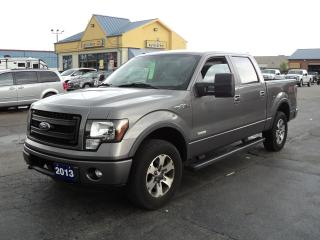 Used 2013 Ford F-150 FX4 SuperCrew 3.5L Ecoboost 5.5ft Box for sale in Brantford, ON