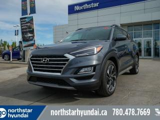 New 2019 Hyundai Tucson Ultimate: 8 TOUCH SCREEN NAV SYSTEM,BLUELINK,INFINITY PREMIUM AUDIO,LEATHER SEATING SURFACE for sale in Edmonton, AB