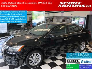 Used 2015 Nissan Sentra SV+Camera+Bluetooth+Cruise Control+Heated Seats+AC for sale in London, ON