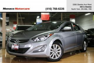 Used 2016 Hyundai Elantra AUTO SPORT - ONE OWNER|BACKUP|SUNROOF|ALLOYS for sale in North York, ON