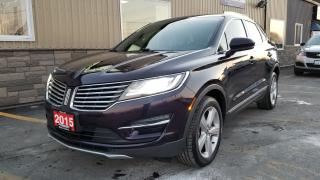 Used 2015 Lincoln MKC AWD-OFF LEASE-NAVIGATION-SUNROOF-HEATED LEATHER for sale in Tilbury, ON