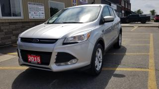Used 2015 Ford Escape SE-HEATED SEATS-BLUETOOTH-BACK UP CAMERA-ALLOYS for sale in Tilbury, ON