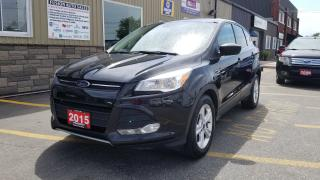 Used 2015 Ford Escape SE-REVERSE CAMERA-BLUETOOTH-HEATED SEATS for sale in Tilbury, ON