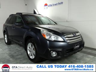 Used 2013 Subaru Outback 2.5i Touring AWD 6-Speed Sunroof Alloys Certified for sale in Toronto, ON