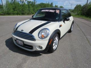 Used 2012 MINI Cooper Base for sale in Fredericton, NB