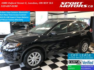 Used 2015 Nissan Rogue S+Camera+Bluetooth+Cruise+New Tires+A/C for sale in London, ON