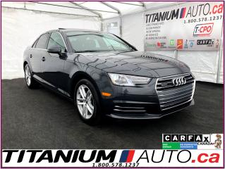 Used 2017 Audi A4 Quattro+Brown Leather+Back Up Sensors+Apple Play+ for sale in London, ON