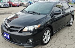 Used 2013 Toyota Corolla S for sale in Hamilton, ON