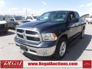 Used 2017 RAM 1500 SLT Crew CAB SWB 4WD 3.6L for sale in Calgary, AB