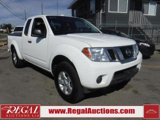 Used 2013 Nissan Frontier SV King Cab 4x4 for sale in Calgary, AB