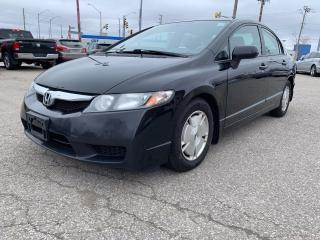 Used 2010 Honda Civic DX-G/ONE OWNER/NO ACCIDENT/CERTIFIED for sale in Cambridge, ON