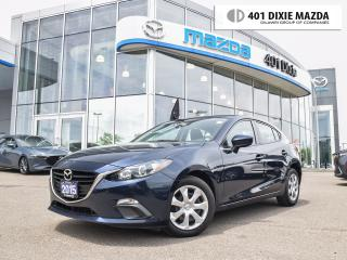 Used 2015 Mazda MAZDA3 Sport GX|ONE OWNER|1.9% FINANCE AVAILABLE|NO ACCIDENTS for sale in Mississauga, ON