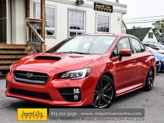 Used 2016 Subaru WRX w/Sport-Tech pkg NAV HK ENKEI ALLOYS 6 SPD WOW!! for sale in Ottawa, ON