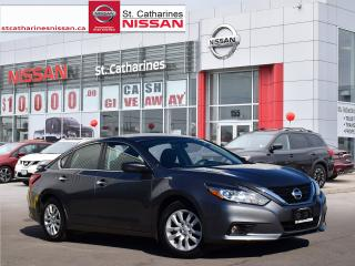 Used 2016 Nissan Altima 2016 Nissan Altima - 4dr Sdn I4 CVT 2.5 S for sale in St. Catharines, ON