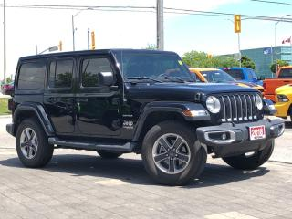 Used 2018 Jeep Wrangler JL**Sahara**4X4**Leather**NAV**Cold Weather Group for sale in Mississauga, ON