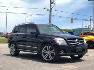 Used 2010 Mercedes-Benz GLK-Class GLK350 4matic**Sunroof**NAV**Leather for sale in Mississauga, ON