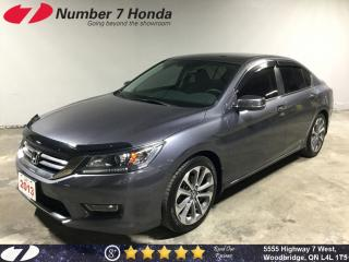 Used 2013 Honda Accord Sport| Backup Cam| Bluetooth| Tint| for sale in Woodbridge, ON