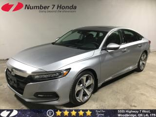 Used 2018 Honda Accord Touring| Loaded| Navi| Leather| for sale in Woodbridge, ON