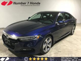 Used 2018 Honda Accord Touring| Loaded| Leather| Navi! for sale in Woodbridge, ON