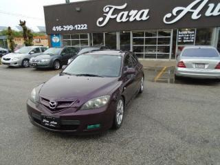 Used 2008 Mazda MAZDA3 HB Sport & LEATHER & SUNROOF for sale in Scarborough, ON