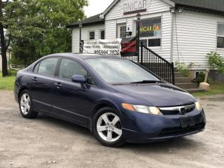 Used 2007 Honda Civic No-Accidents LOW KMS  5-Speed Manual  Sunroof for sale in Sutton, ON