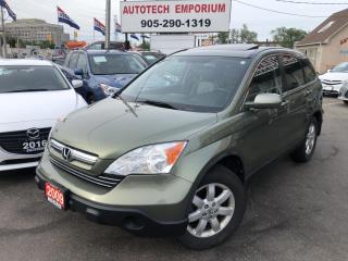 Used 2009 Honda CR-V EX-L 4WD Leather/Sunroof/Alloys&GPS* for sale in Mississauga, ON