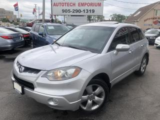 Used 2007 Acura RDX Navigation//Camera/Bluetooth/Heated Leather for sale in Mississauga, ON