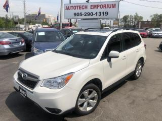 Used 2015 Subaru Forester Prl White Touring/Pan.Roof/Camera/Heated Seats/Bluetooth&GPS* for sale in Mississauga, ON
