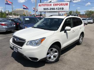 Used 2016 Subaru Forester 2.5i Backup Camera/Heated Seats/Bluetooth&GPS* for sale in Mississauga, ON