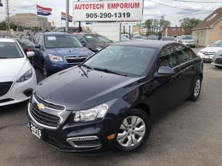 Used 2015 Chevrolet Cruze LT Auto/Backup Camera/All Power&GPS* for sale in Mississauga, ON