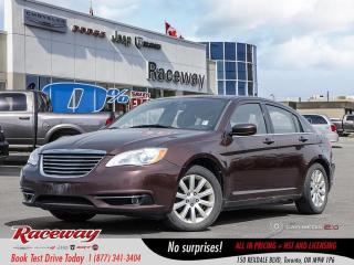 Used 2013 Chrysler 200 Touring - As Is for sale in Etobicoke, ON