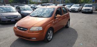 Used 2007 Chevrolet Aveo LT for sale in Toronto, ON