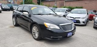 Used 2013 Chrysler 200 Limited for sale in Toronto, ON