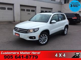 Used 2015 Volkswagen Tiguan Comfortline  AWD LEATH PANO-ROOF CAM for sale in St. Catharines, ON