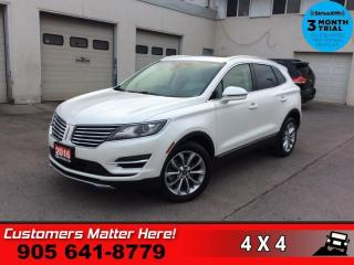 Used 2016 Lincoln MKC Select  NAV PANO-ROOF P/GATE CAM P/SEAT for sale in St. Catharines, ON