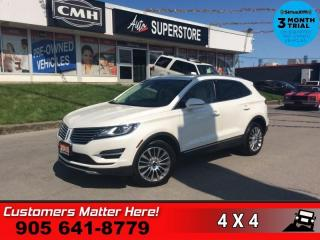 Used 2015 Lincoln MKC Reserve  RESERVE CS NAV PANO-ROOF P/GATE for sale in St. Catharines, ON