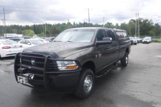 Used 2012 RAM 3500 ST Crew Cab Long Box 4WD Diesel for sale in Burnaby, BC