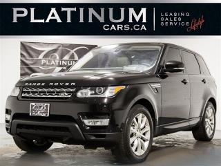 Used 2016 Land Rover Range Rover Sport HSE Td6, NAVI, PANO, HEADS UP DISP, DRIVER ASSIST for sale in Toronto, ON