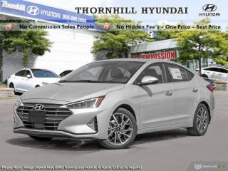 New 2019 Hyundai Elantra Ultimate Auto  - Sunroof for sale in Thornhill, ON