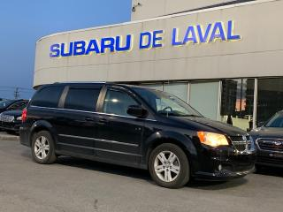 Used 2016 Dodge Grand Caravan Crew Plus ** Cuir et Bluetooth ** for sale in Laval, QC
