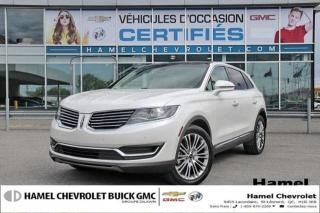 Used 2018 Lincoln MKX Reserve for sale in St-Léonard, QC