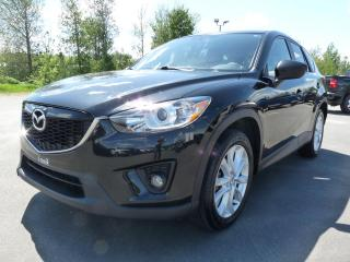Used 2013 Mazda CX-5 GT SKYACTIVE AWD, CUIR, TOIT, BLUETOOTH for sale in Vallée-Jonction, QC